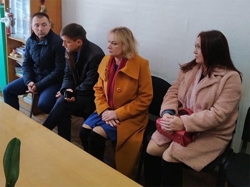 Керівник Олешківської райради перевіряє стан закладів освіти району