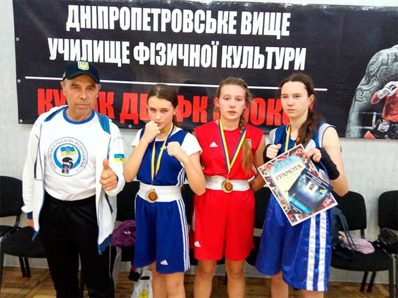 Херсонские боксёры привезли медали из Днепра