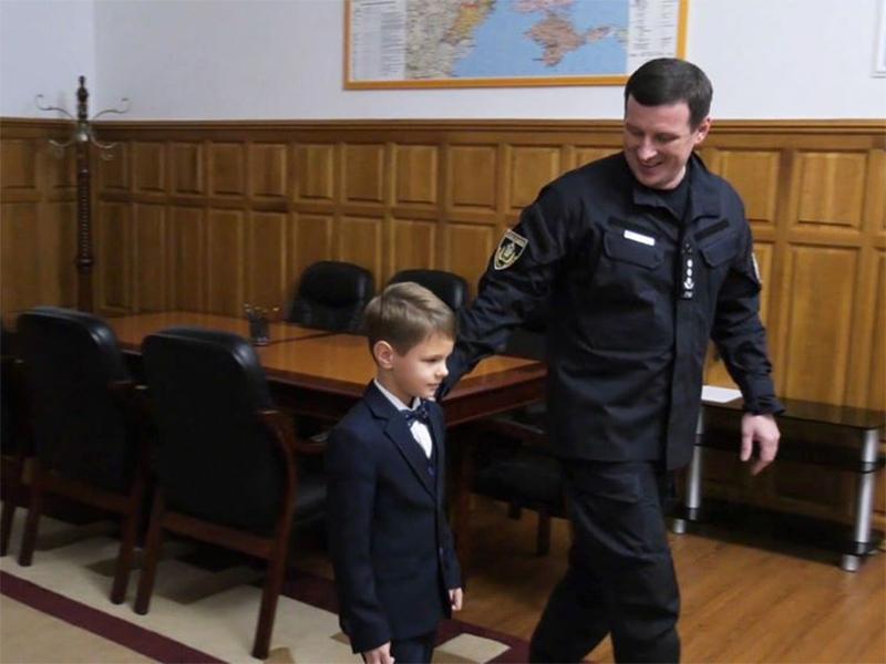 Дитячі мрії збуваються: один день з головним поліцейським Херсонщини