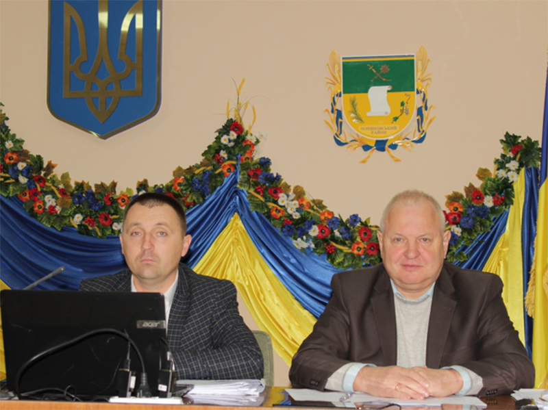 В Олешківській райраді підвели підсумки роботи району за дев'ять місяців поточного року