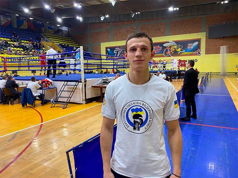 Херсонский спортсмен бился среди международной элиты бокса