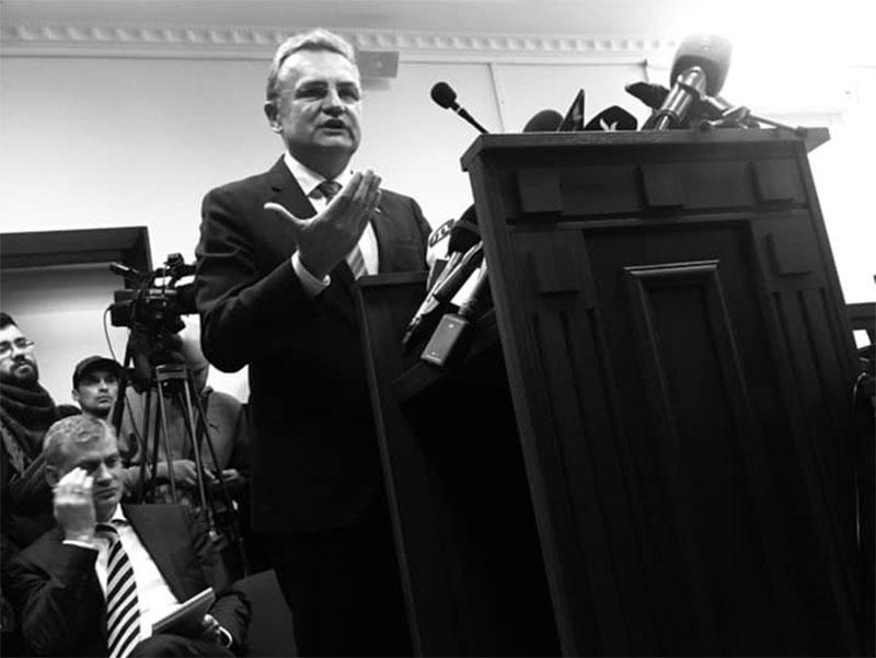 Оксана Сироїд: Головний «корупційний» мотив Андрія Садового – збільшення надходжень до місцевого бюджету