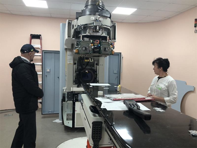 У Херсонському онкологічному диспансері тестують нове обладнання