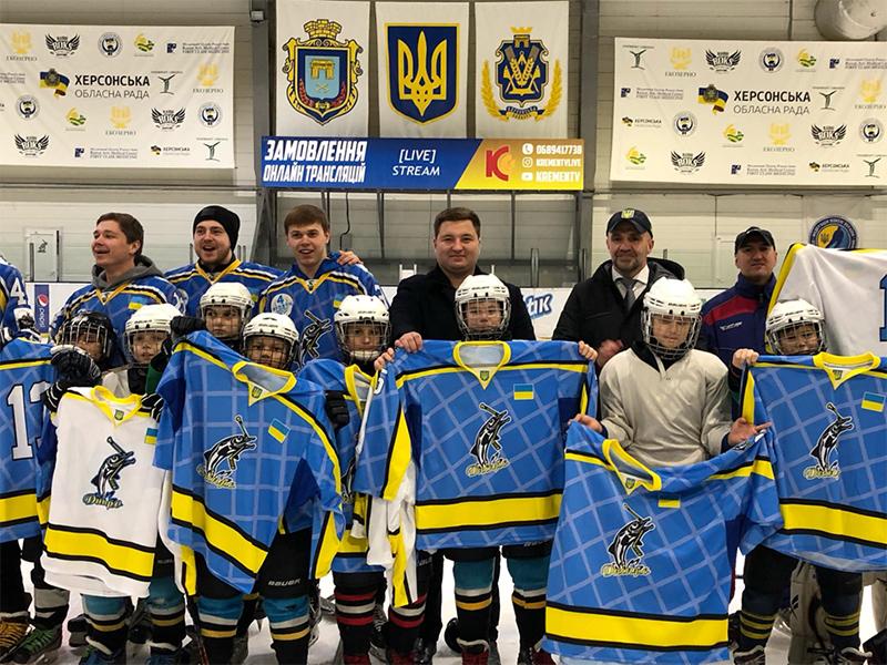 Андрей Жвачкин: В Херсоне одна из лучших хоккейных школ в Украине