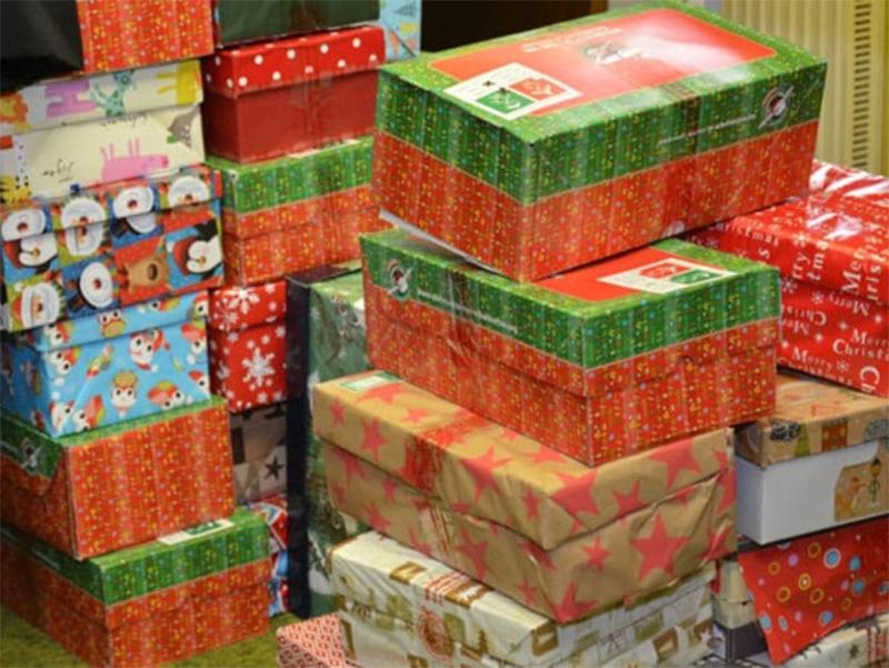 Німецькі волонтери привезли подарунки для херсонських дітей