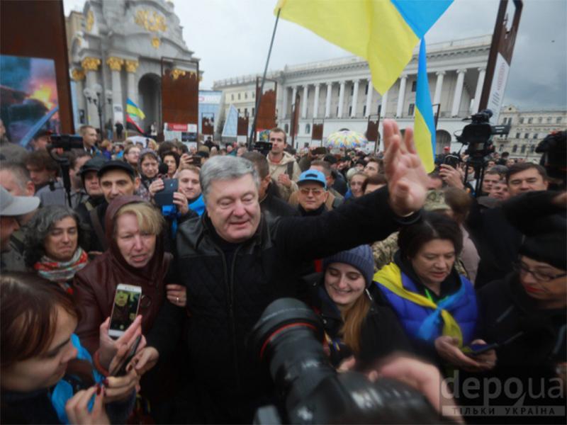 """""""З голосом Майдану мають рахуватись усі лідери нормандської четвірки"""" - про що говорив Петро Порошенко на недільному віче"""
