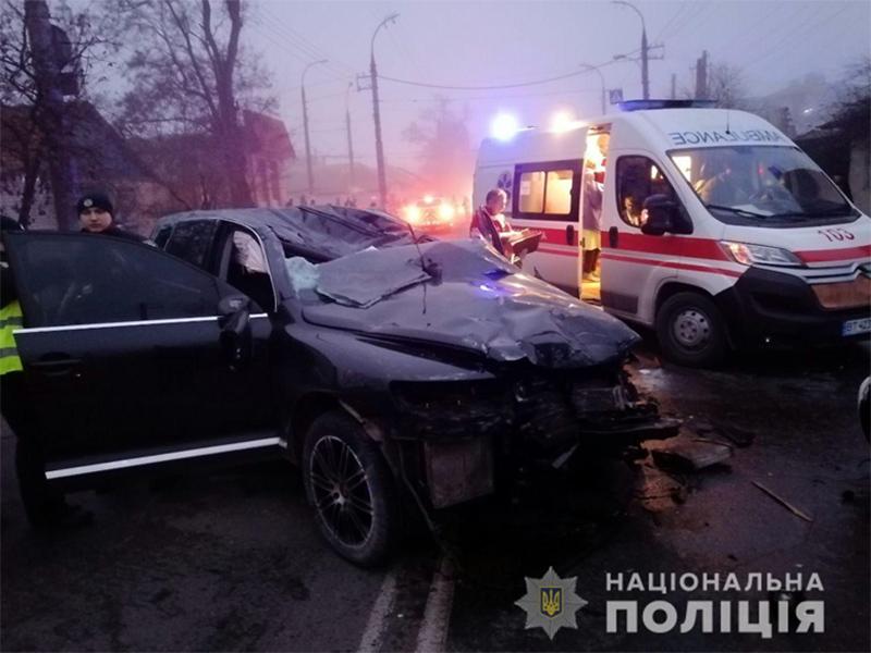 Причины дорожной трагедии в Херсоне выясняет полиция