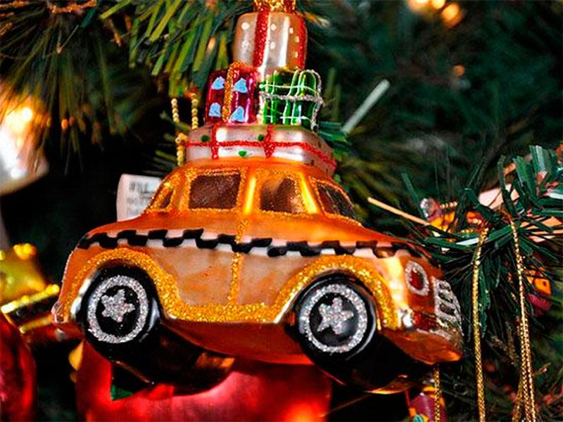 Поздравление с новым годом пассажиров такси