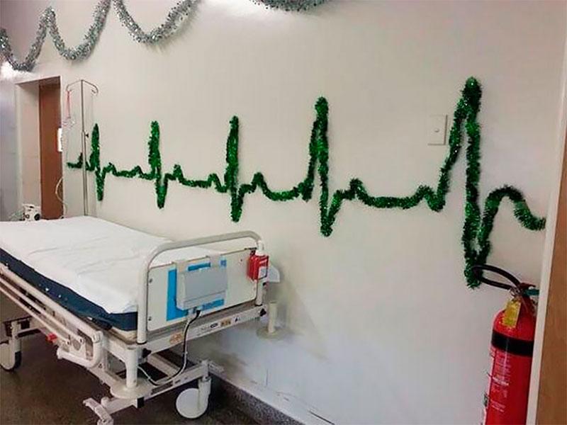 Новый год в больницах встретили две женщины на Херсонщине