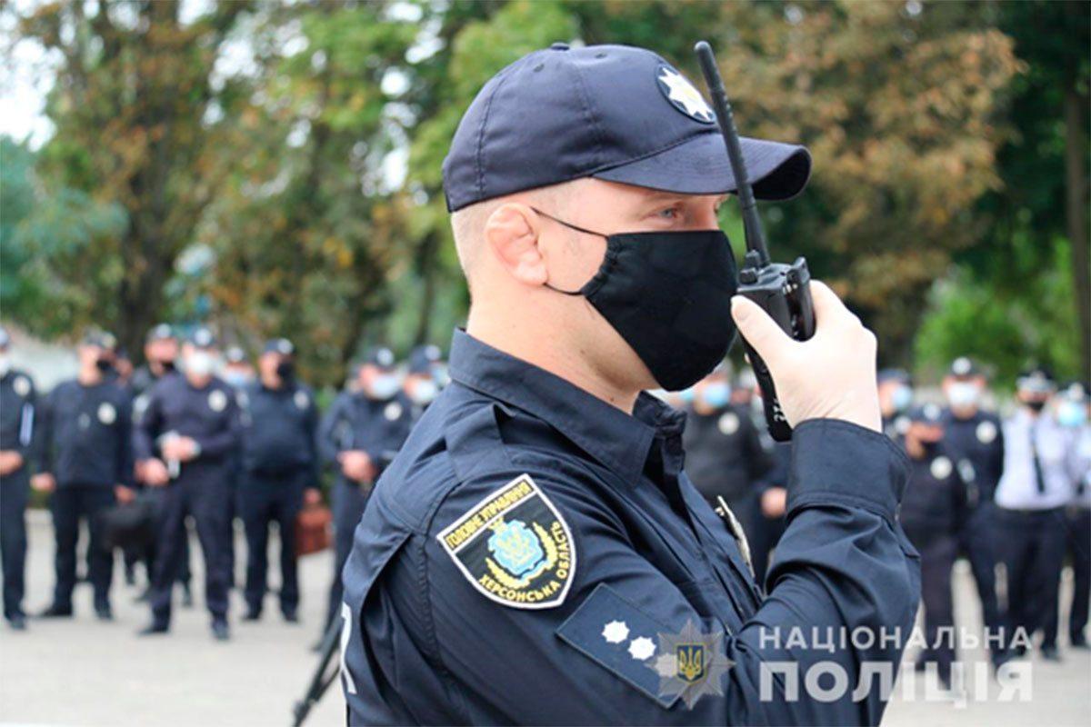 Поліцейські Херсонщини готові забезпечити правопорядок під час місцевих виборів