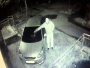 На Херсонщині зловмисник підпалив та порубав мачете дві автівки