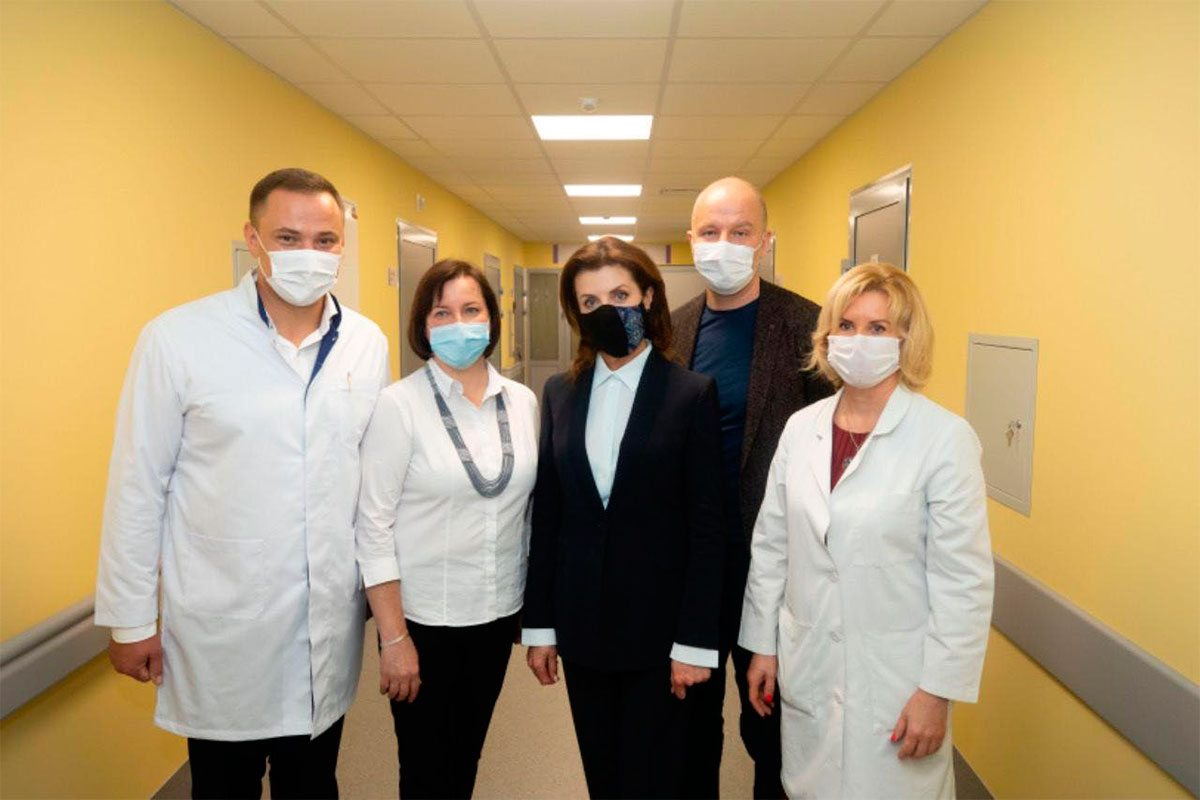 В Національному інституті раку за сприяння Roshen відкриваютьвідділення онкогематології і трансплантації кісткового мозку