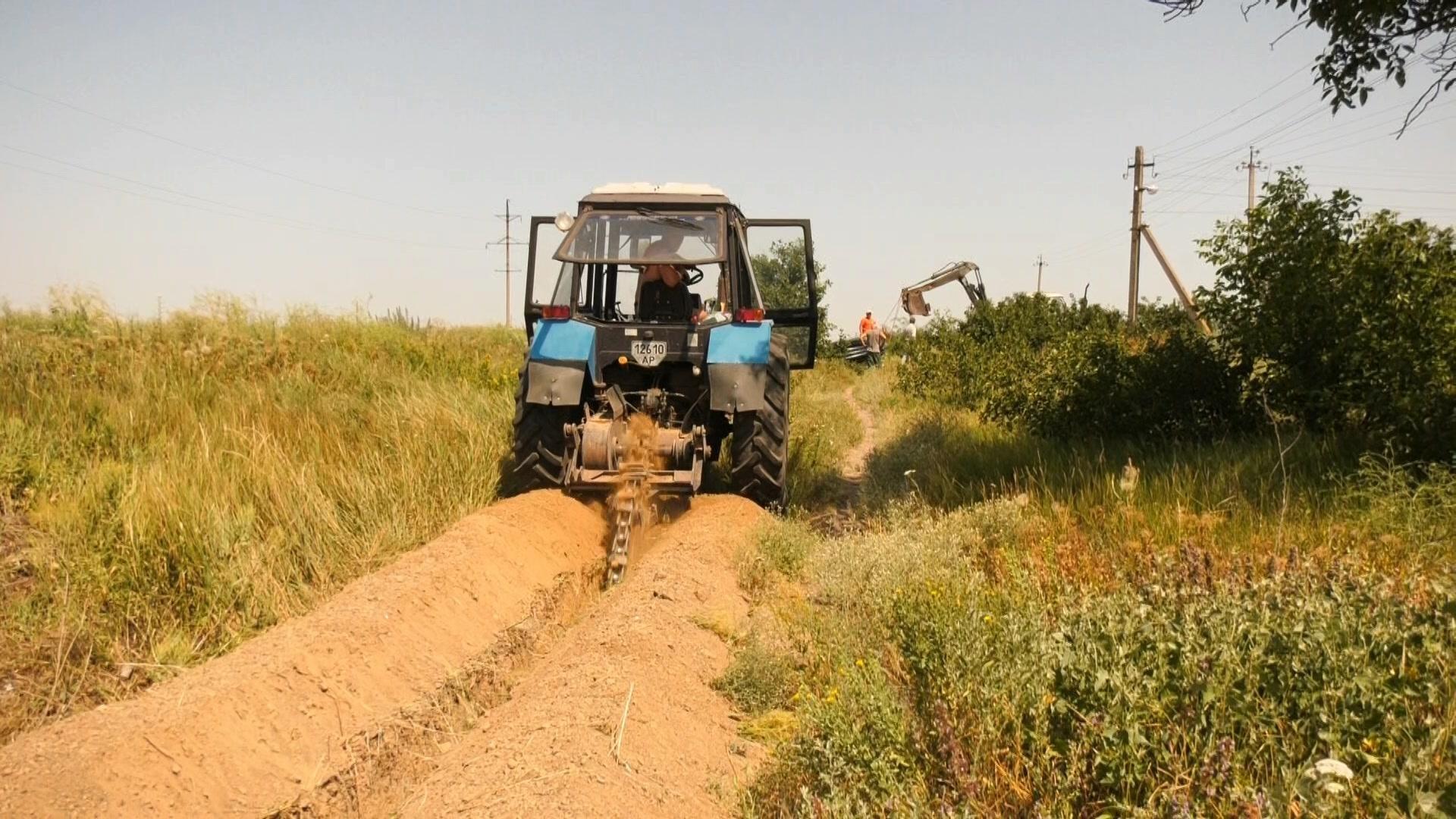 На Херсонщині при будівництві водопроводу в степу вкрали майже 20 мільйонів гривень