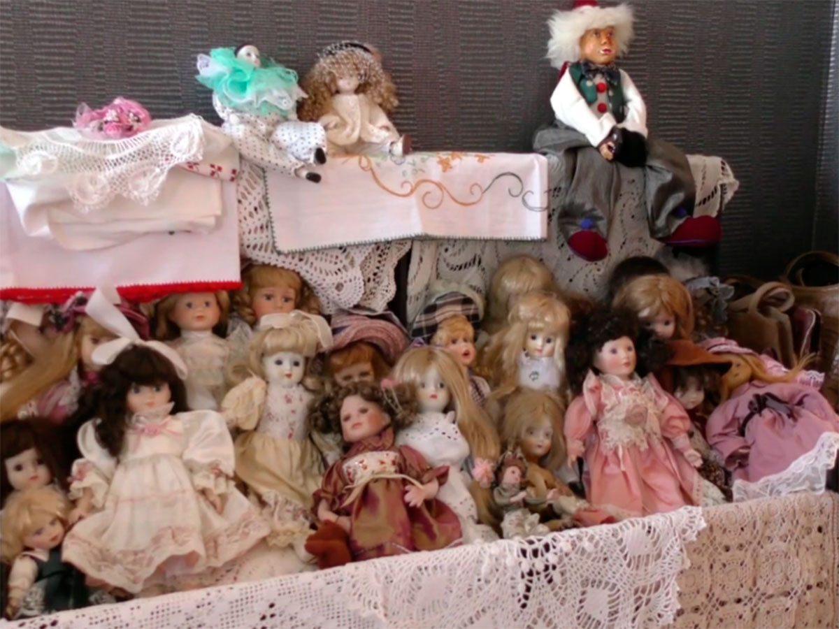 Херсон, відео, ляльки
