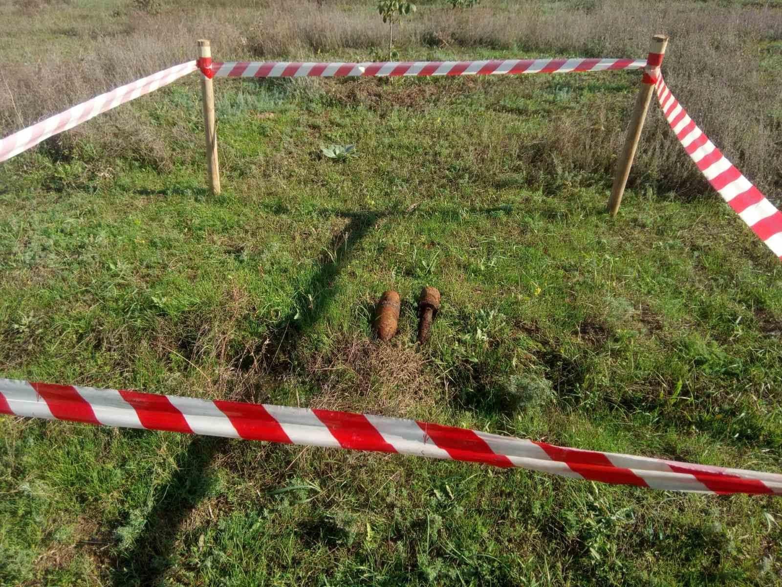 На Херсонщине сапёры-пиротехники уничтожили два боеприпаса времён войны
