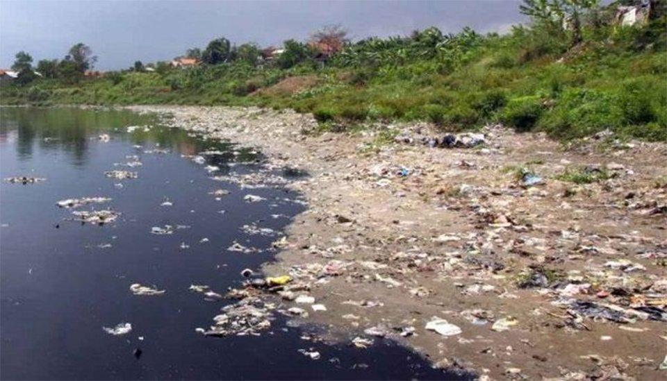 сміттєзвалище, Дніпро, берег