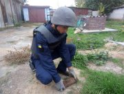 В Херсонской области взорвали старые боеприпасы