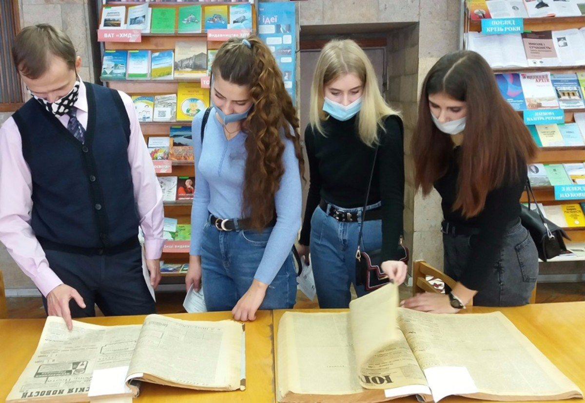 В Херсонской библиотеке прошёл день информации для студентов гостинично-ресторанного дела