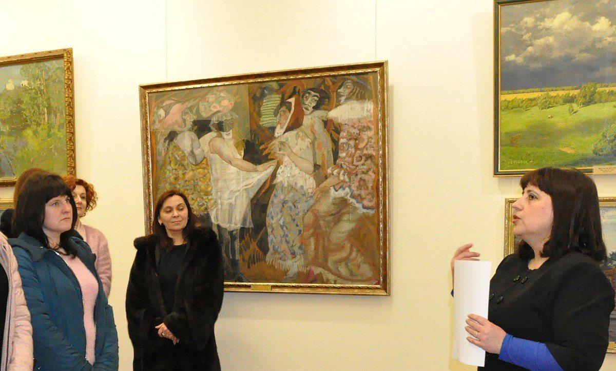 Херсонський  музей представив шедевр Срібного віку