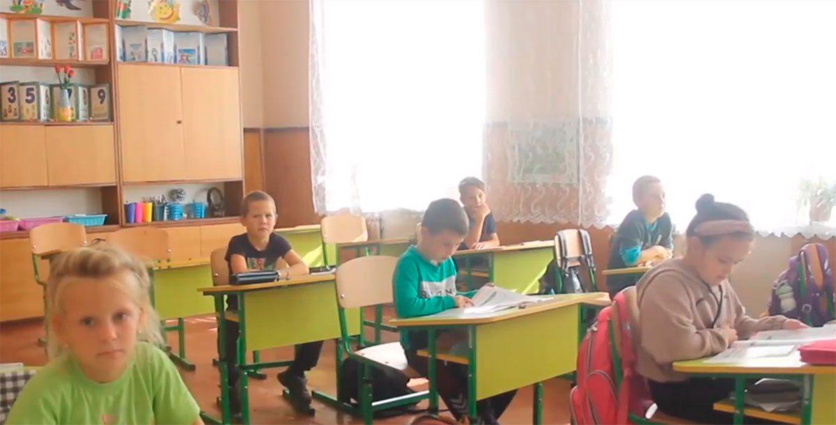 Генічеськ, оновлення школи, Євстратов