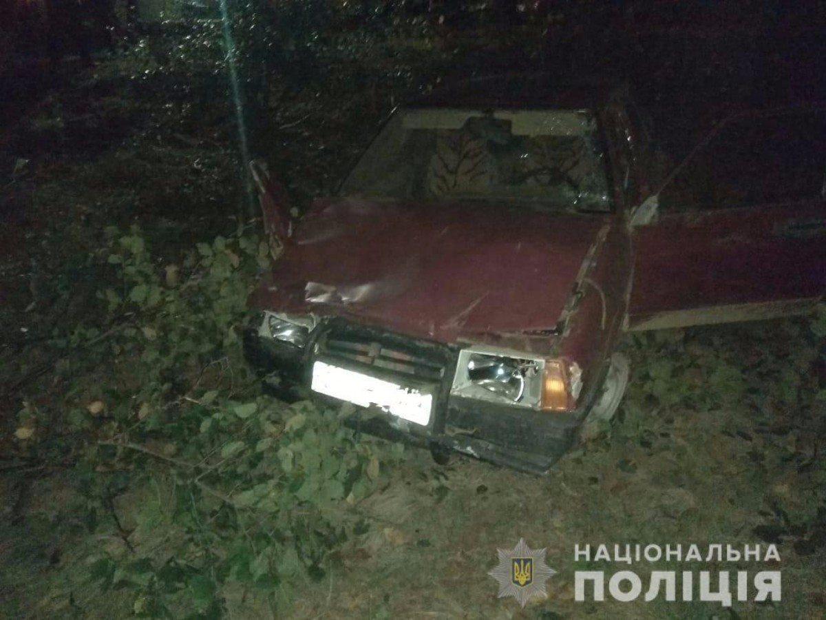 Житель Херсонщины угнал авто своего знакомого и попал на нём в ДТП