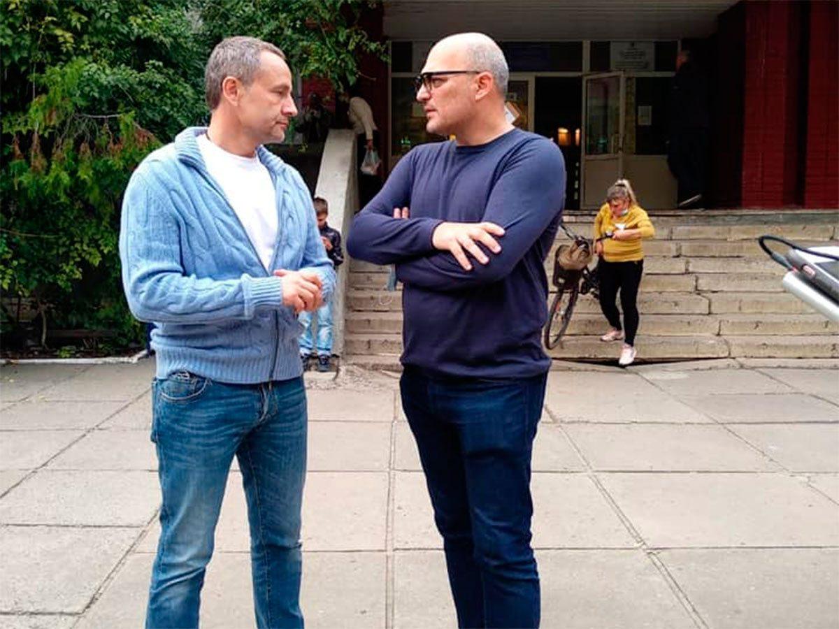 Андрей Дмитриев призывает херсонцев прийти и проголосовать