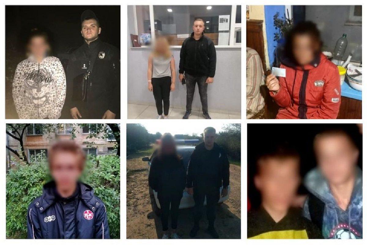 За вихідні херсонські поліцейські розшукали вісім зниклих дітей