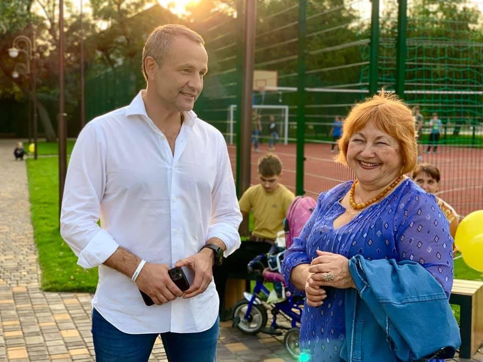 Колихаєв, результат, парк