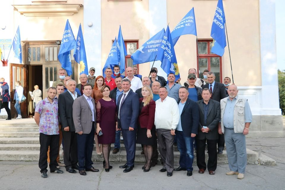 Егор Устинов в Бериславе: Шмыгаля не будет, а пенсии будут!