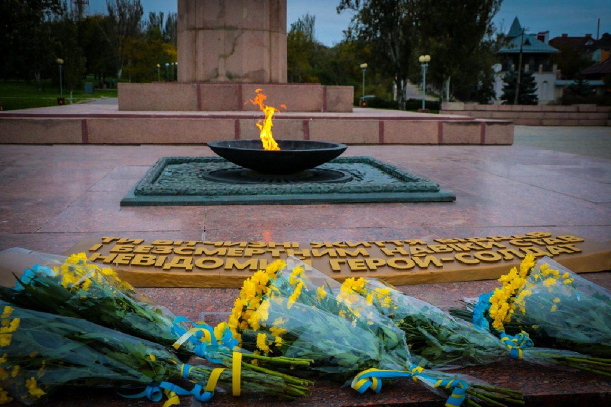 На Херсонщині вшанували пам'ять полеглих у Другій світовій війні