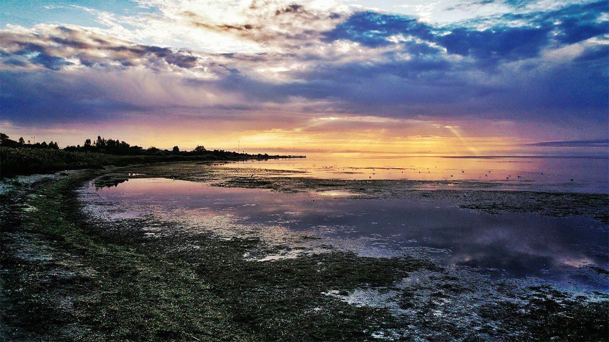 Морское побережье у Скадовска