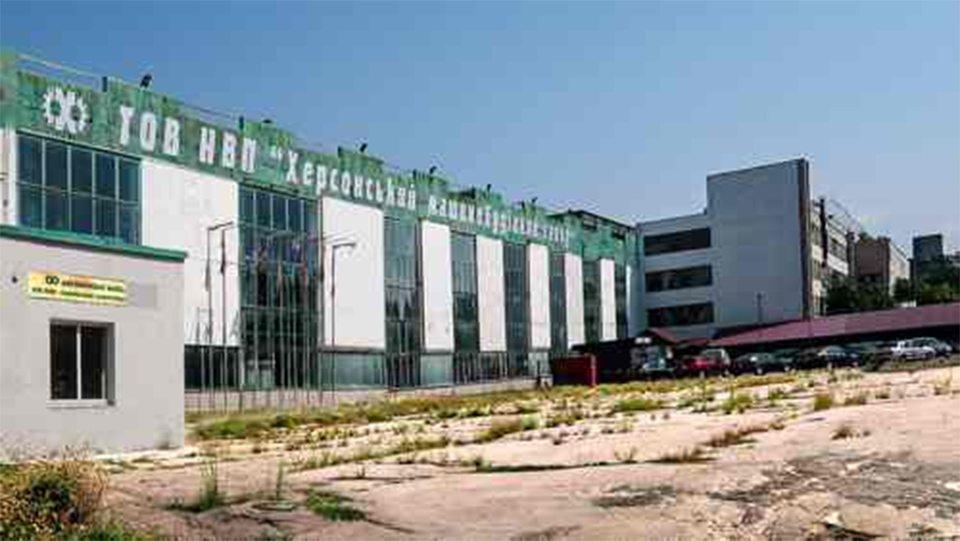Фінський бублик для Херсонського машинобудівного заводу