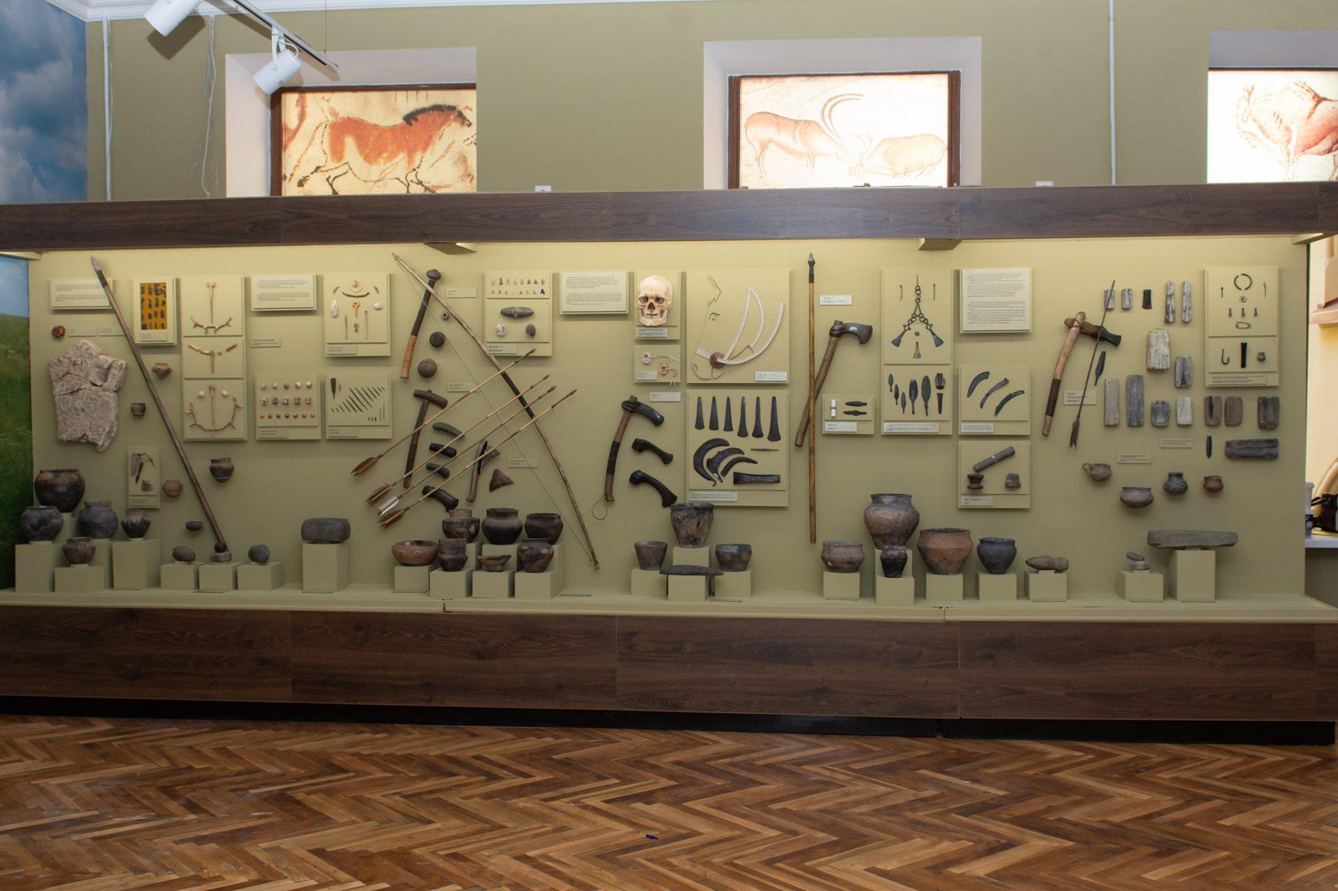 Херсонский музей открыл новый зал каменного века