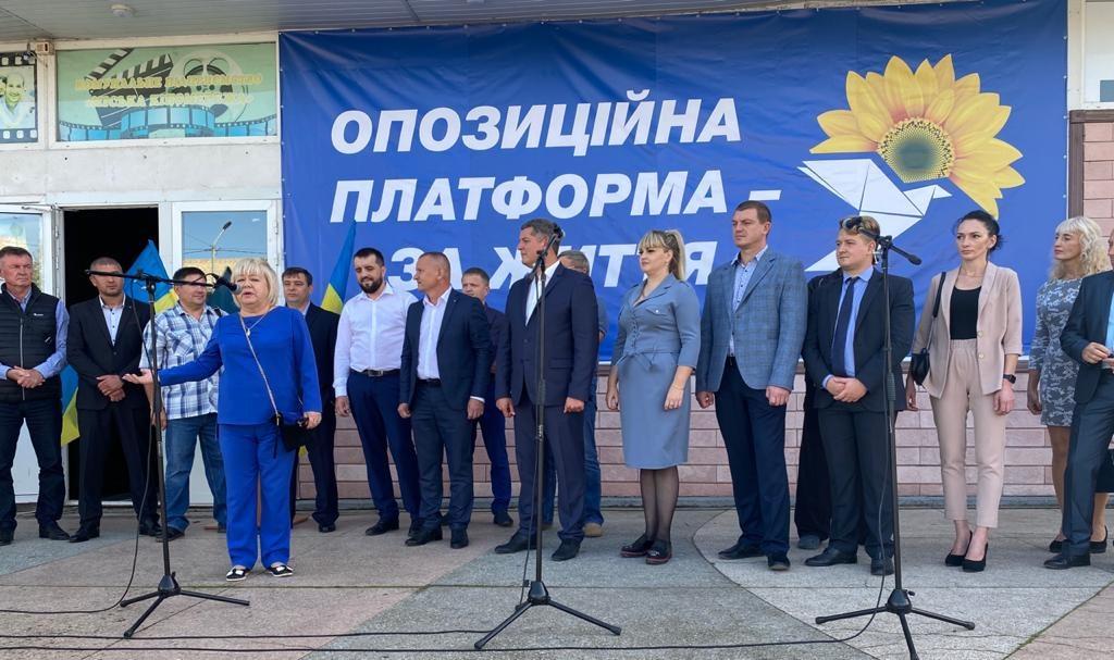 Егор Устинов в Геническе рассказал об основных программных целях ОП-ЗЖ
