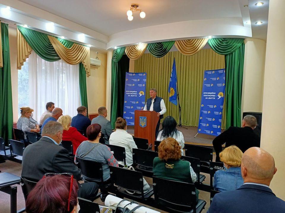 Егор Устинов: ОП-ЗЖ готова взять ответственность за Херсонщину и благосостояние каждого жителя громады
