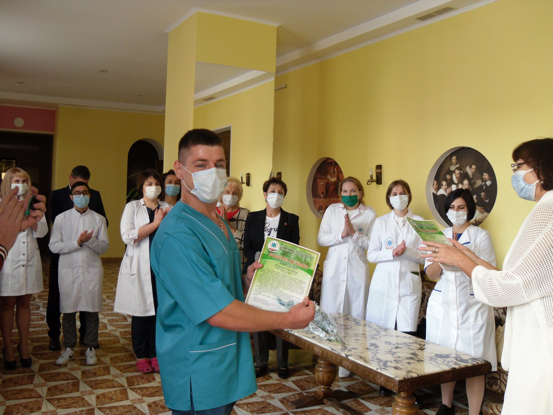 врачи, больница, медработники
