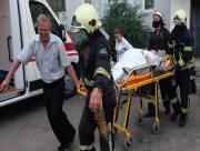 В Херсонской области спасатели сняли с крыши травмировавшуюся пожилую женщину