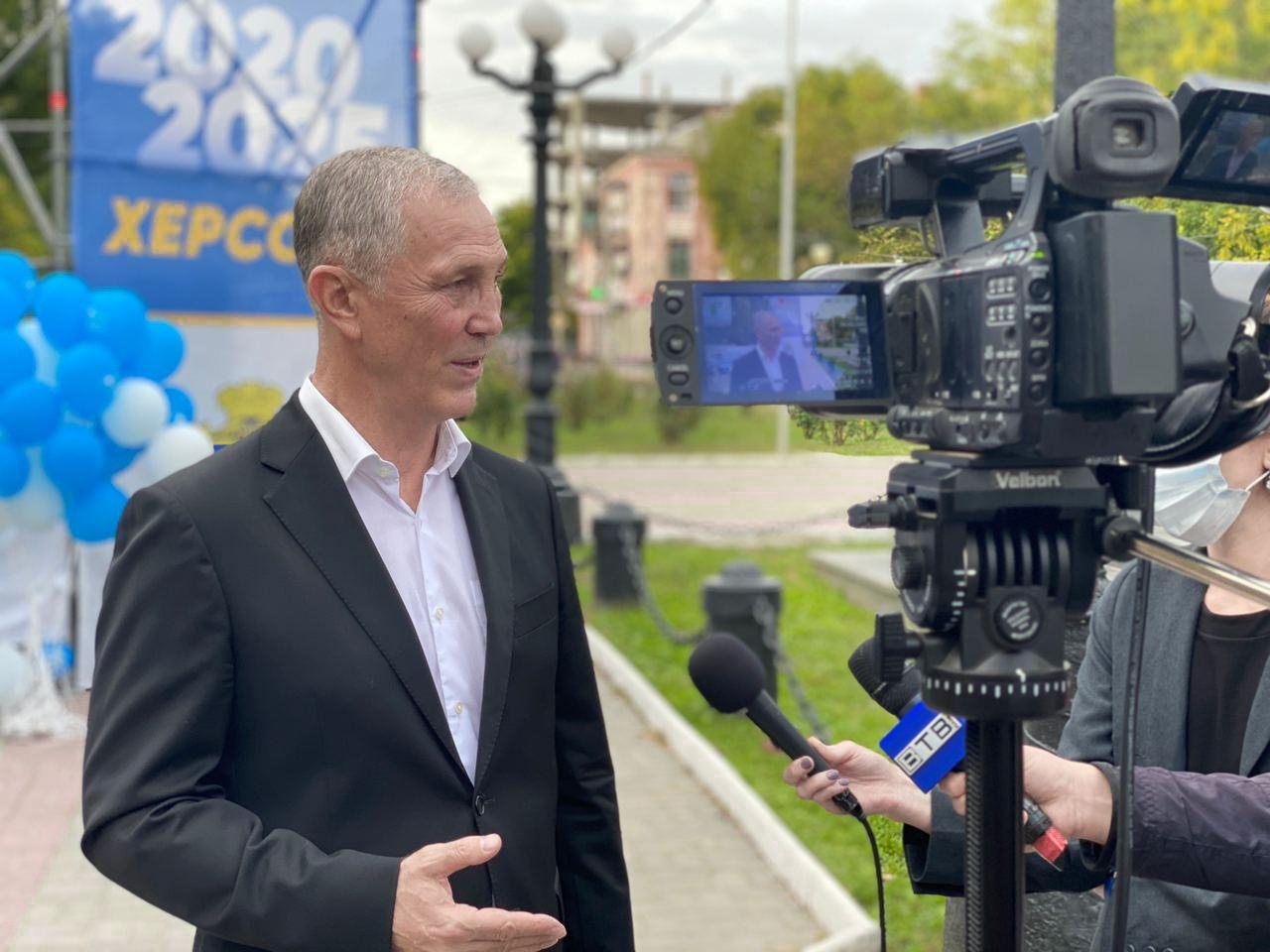 Володимир Сальдо розповів про нову філософію розвитку херсонської громади