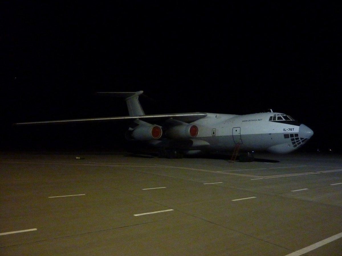 Авиационный гигант приземлился в Херсоне