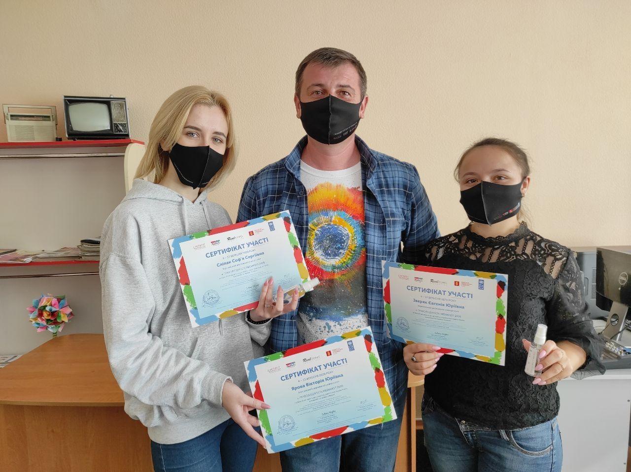Студентки ХДУ стали учасницями Медіафестивалю