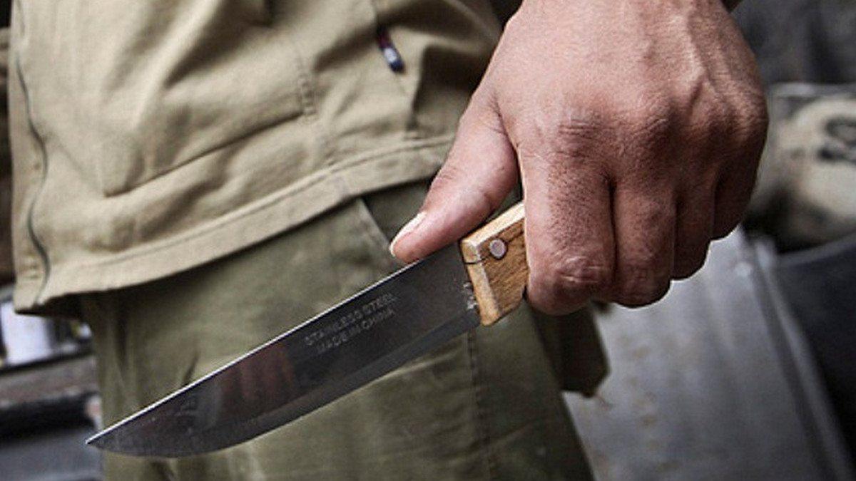 Херсон, брат, нож