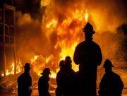 Масові пожежі у житлових секторах Херсонщини