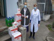 Херсонські лікарні отримують благодійну допомогу