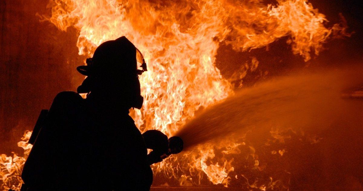 херсон, пожежа, вогнеборці