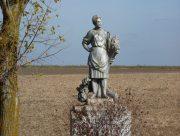 На Херсонщине памятник затерялся в поле