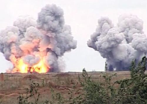 Под Скадовском сегодня были слышны взрывы