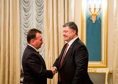 Мер Херсона зустрівся з Президентом України