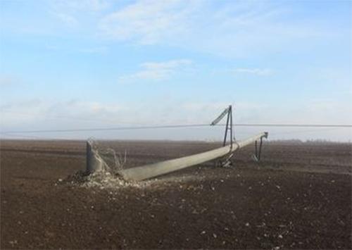 Енергетики розпочали ремонт підірваної ЛЕП на Херсонщині