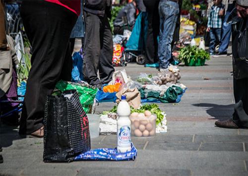 Бізнес на тротуарі, або ще раз про «стихійну торгівлю» на Херсонщині