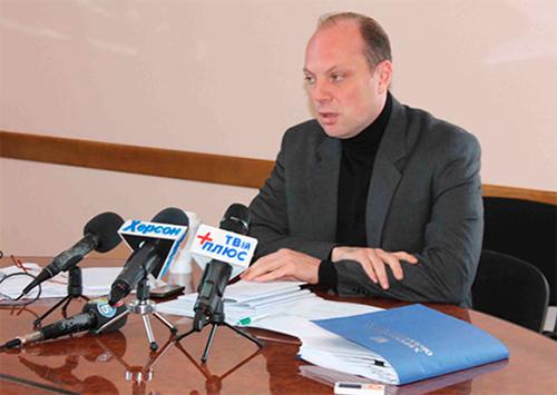 Херсонский депутат отчитался перед избирателями